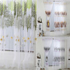 Newly Window Door Flower Sheer Curtain Panel Curtain Room Divider Voile Drape