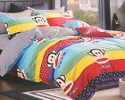 New 2016 Paul Frank Bedding Set 4pc Queen King Bed Cotton RARE