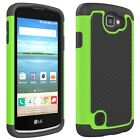CoverON for LG Optimus Zone 3  - Protective Hybrid Slim Phone Cover Case