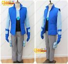 Chris Kirkman from Bravest Warriors Cosplay Costume blueUS#
