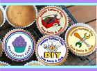 24 FATHER'S DAY DESIGN CUPCAKE TOPPER RICE, WAFER or ICING