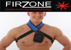 Far infrared heated heat neck pad brace support neoprene tourmaline Firzone