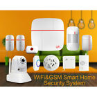 Vcare Smart Wireless WiFi GSM SMS Home Burglar Security Sensor Alarm System
