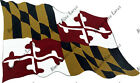 Maryland Flag State Vinyl Decal Sticker iPad iRulu Surface Note Tab Pro Tablet