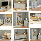 Chadwick Grey Painted Luxury Satin Lacquered Oak, Contemporary Home Furniture,