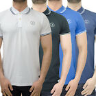Mens Jack & Jones Polo Shirt Designer Branded Pique Top Collared Smart Tee T S/S