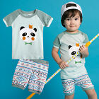"Vaenait Baby Kids Girls Boys Clothes Short Pajama Outfit set ""Mint Pang"" 12M-7T"