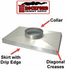 Chimney Chase Cover - Custom Made Cover with Stainless Steel + Lifetime Warranty