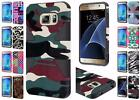 For Samsung Galaxy S7 G930 Dynamic Design Hybrid Dual Layer Cover Case