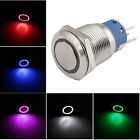 16mm 19mm 12V Car LED Light ON OFF Metal Push Button Toggle Switch 5Pin Sales