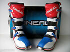 NEW ONEAL BLUE RED MOTOCROSS ENDURO TRAIL BOOTS CR CRF YZ YZF WR WRF XR XCF KX
