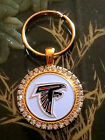 RHINESTONE KEYRING/  PENDANT W/ NFL ATLANTA FALCONS SETTING JEWELRY on eBay