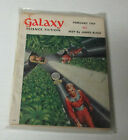 GALAXY SCIENCE FICTION - FEBRUARY 1954/GC/Contents in Description