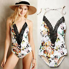 Sexy Women's Swimwear One Piece Swimsuit Monokini Push Up Padded Bikini Bathing