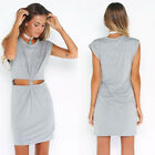 Women Sexy Summer Casual Sleeveless Evening Party Cocktail Short Mini Dress