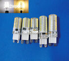 1x G9 64/72/104/152 3014 SMD LED Light Corn Bulb Silicone Lamp Warm /Cool White