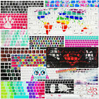 "Colorful Prints Silicone US EU Keyboard Skin Cover for Macbook Air Pro 13""15""11"
