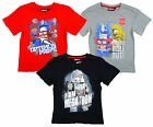 Boys Transformers Megatron Optimus Bumblebee T-Shirt Top Tee 4 to 10 Years NEW