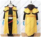 Outlaw Star Gene Starwind Cosplay Costume with cape Yellow