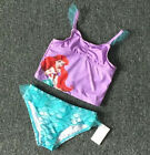 Baby Girls Little Mermaid Tail Bikinis Set Costume Swimwear Outfits Swimsuit