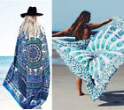 Chiffon Wrap Dress Sarong Pareo Beach Bikini Swimwear Cover Up Scarf Multicolor