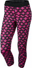 Nike Printed Relay Cropped Ladies Running Tights - Pink
