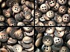 Small 9mm 10mm 11mm 12mm Chocolate Mid Brown Shirt Baby Craft 4H Buttons W58-61