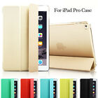 Ultra Slim Clear Magnetic Leather Smart Cover Case For Apple iPad Pro 12.9'' 9.7