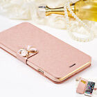 Luxury Flip Leather Wallet Card Case Cover f Apple iPhone 7 Plus 6 Galaxy Varies