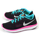 Nike Flex 2016 RN (GS) Black/Metallic Silver-Gamma Blue-Pink Running 834281-001