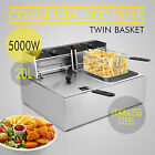 20L COMMERCIAL DEEP FRYER COUNTERTOP 5000W TABLETOP AUTO THERMOSTAT WHOLESALE