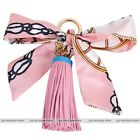 Leather tassel fringe bowknot key chain bag car silk keyring elegant pendant new