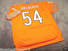 BRIAN URLACHER #54 - Chicago Bears Orange ALT NFL Sewn Jersey - ALL SIZES AVAIL.