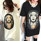 CHIC Women Loose Short Sleeve Casual Blouse Shirt Tops Fashion Summer T-shirt