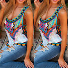 Womens Fashion Summer Vest Top Sleeveless Shirt Blouse Casual Tank Tops T-Shirt