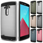 Slim Brush Hybrid Rugged Shockproof Phone Case Protective Cover For LG G3 G4