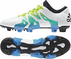 adidas X 15.1 Firm Ground / AG Mens Football Boots - White