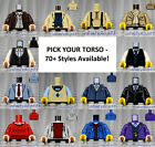 LEGO - Torsos CITY Male - PICK YOUR STYLE - Minifigure Body Parts Vest Town B