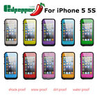 Redpepper Waterproof Shockproof Dirtproof Stand Case Cover For iphone 5 5s SE