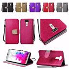 For LG G5 Shiny Bling Premium PU Leather Wallet Flip Cover Case
