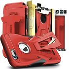 For iPhone 6 6s Plus Case Cover Kickstand Holster Flagship Military Drop-Tested