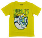 Hurley Big Boys S/S Yellow Monster Surfer Top Size 14/16 (Large) $18