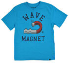 Hurley Big Boys Baby Cyan Wave Magnet Top Size 10/12 14/16 18/20 $18
