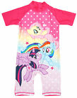 Girls My Little Pony Rainbow Dash Sunsafe All in One MLP Swimsuit 1.5 to 5 Years