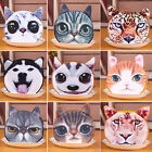 CH Fashion Ladies Cute Cat Face Animal Change Coin Purse Wallet Mini Zipper Bag
