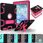 Soft Shockproof Heavy Defender Rubber With Hard Stand Case For iPad Mini 1 2 3