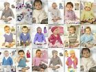 Sirdar Baby Bamboo Patterns 1729-4589 £2.90 per pattern