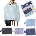 Baby Mum Breastfeeding Nursing Poncho Cover Up Udder Covers Cotton Blanket Shawl
