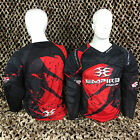 NEW Empire 2014 Prevail FT Padded Paintball Jersey Shirt - Red/Black