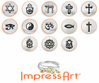 ImpressArt Stamps - Spiritual Metal Stamps, 6mm Jewelry & Craft (Select Stamp)